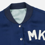 Maison Kitsune Reversible Teddy Women's Bomber Navy photo- 4