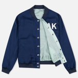 Maison Kitsune Reversible Teddy Women's Bomber Navy photo- 2
