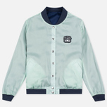Maison Kitsune Reversible Teddy Women's Bomber Navy photo- 1