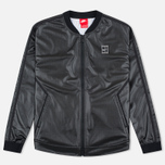Женская куртка бомбер Nike Court Black/White/White фото- 0