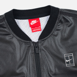 Женская куртка бомбер Nike Court Black/White/White фото- 2