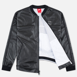 Женская куртка бомбер Nike Court Black/White/White фото- 1