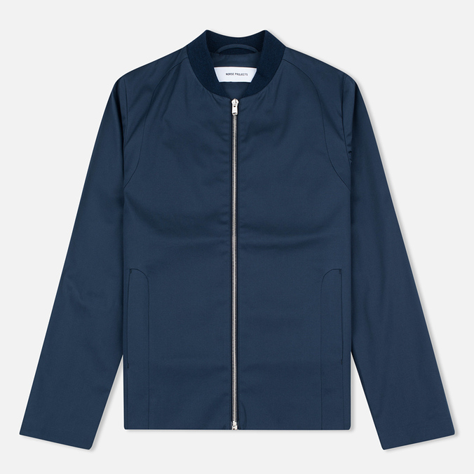 Женская куртка бомбер Norse Projects Dora Cotton Stretch Dark Navy