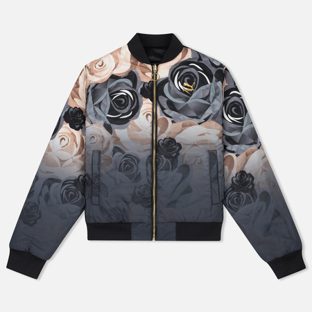 Женская куртка бомбер Puma x Careaux Reversible Flower AOP Black