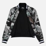 Женская куртка бомбер Stussy Falcon Souvenir Black фото- 2