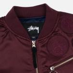 Женская куртка бомбер Stussy Jodie Burgundy фото- 1