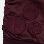 Женская куртка бомбер Stussy Jodie Burgundy фото- 5