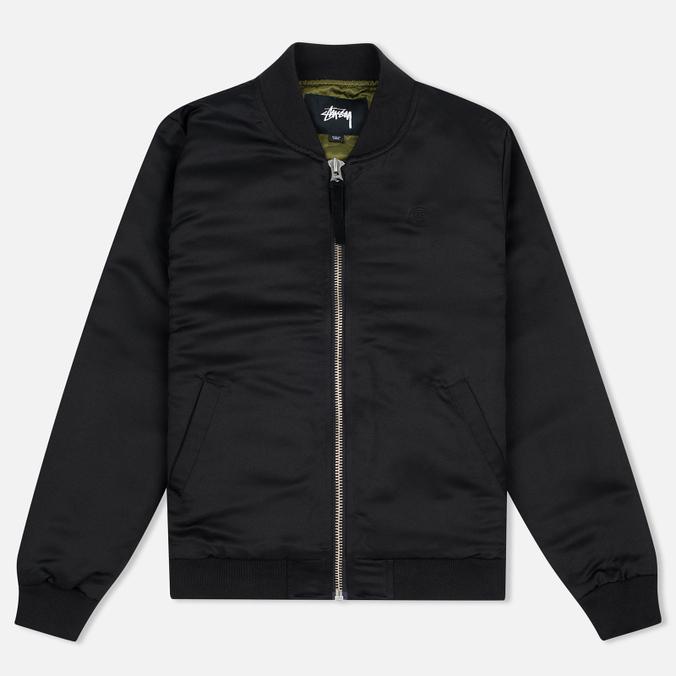 Женская куртка бомбер Stussy Union Black