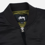 Женская куртка бомбер Stussy Union Black фото- 2