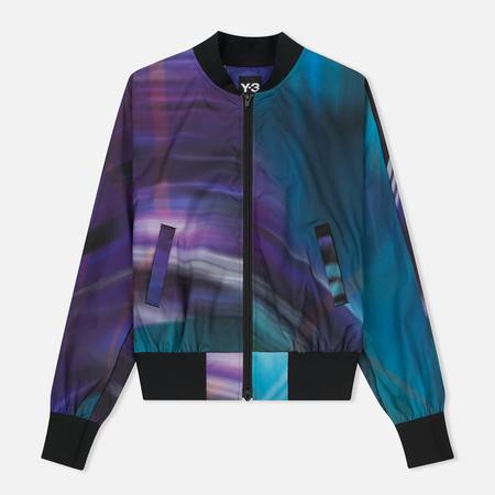 Женская куртка бомбер Y-3 All Over Print Purple