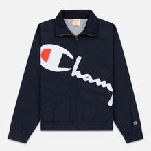 Женская куртка Champion Reverse Weave Vintage Inspired Zip Through Track Navy фото- 0