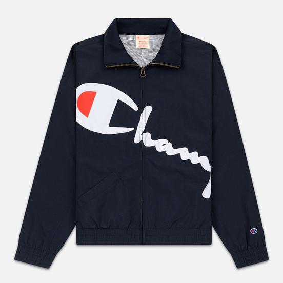 Женская куртка Champion Reverse Weave Vintage Inspired Zip Through Track Navy