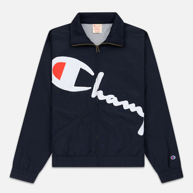 Женская куртка Champion Reverse Weave Vintage Inspired Zip Through Track Navy