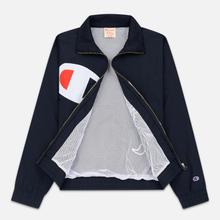Женская куртка Champion Reverse Weave Vintage Inspired Zip Through Track Navy фото- 2