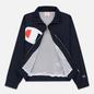 Женская куртка Champion Reverse Weave Vintage Inspired Zip Through Track Navy фото - 2