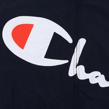 Женская куртка Champion Reverse Weave Vintage Inspired Zip Through Track Navy фото- 4