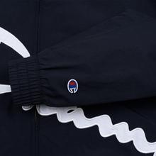 Женская куртка Champion Reverse Weave Vintage Inspired Zip Through Track Navy фото- 6