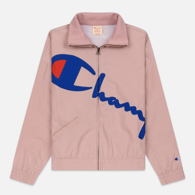 Женская куртка Champion Reverse Weave Vintage Inspired Zip Through Track Pale Mauve