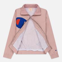 Женская куртка Champion Reverse Weave Vintage Inspired Zip Through Track Pale Mauve фото- 2