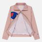 Женская куртка Champion Reverse Weave Vintage Inspired Zip Through Track Pale Mauve фото - 2