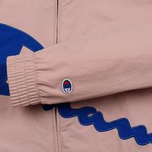 Женская куртка Champion Reverse Weave Vintage Inspired Zip Through Track Pale Mauve фото- 5
