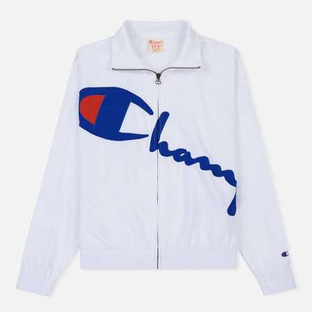 Женская куртка Champion Reverse Weave Vintage Inspired Zip Through Track White