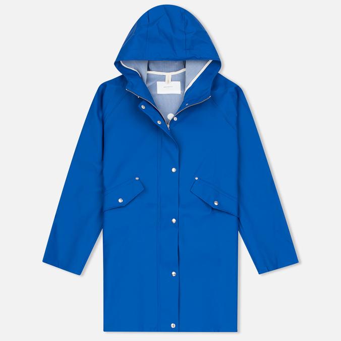 Женская куртка дождевик Norse Projects Alena Rain Cobalt Blue