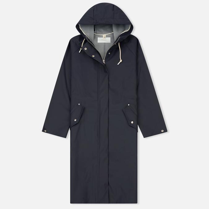 Женская куртка дождевик Norse Projects Klint Rain Dark Navy
