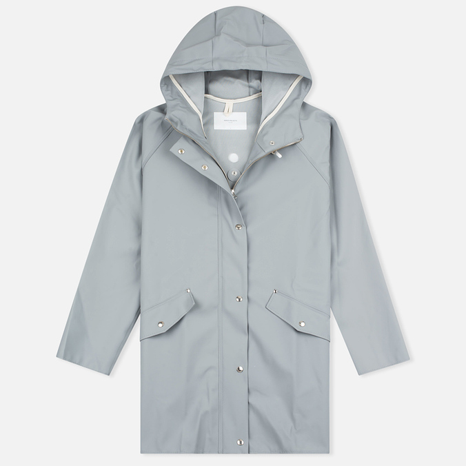 Женская куртка дождевик Norse Projects x Elka Ada Short Rain Light Grey