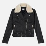 Женская куртка Edwin W' Zoe Leather Sheep Black фото- 0