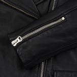 Женская куртка Edwin W' Zoe Leather Sheep Black фото- 3