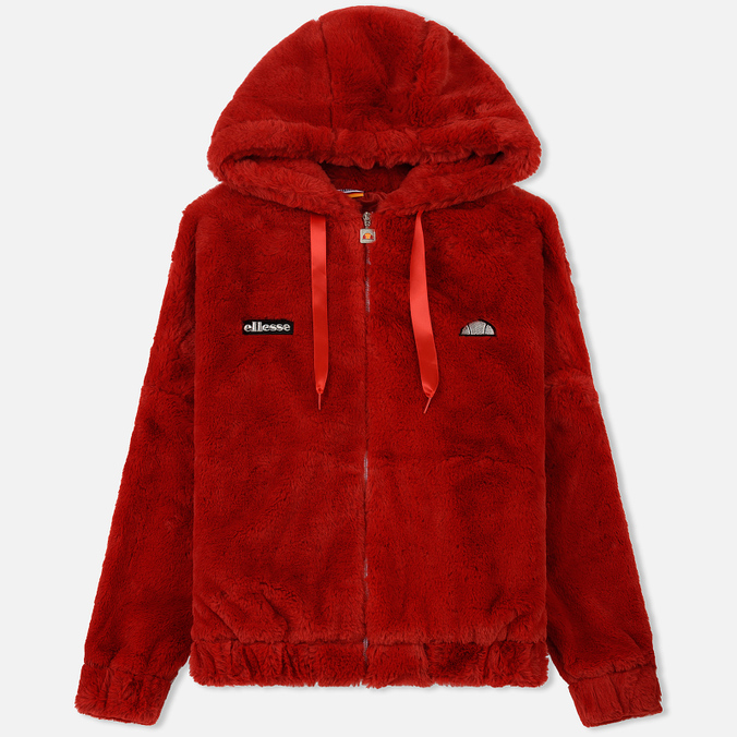 Женская куртка Ellesse Giovanna Zip Ribbon Red