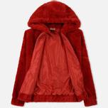 Женская куртка Ellesse Giovanna Zip Ribbon Red фото- 1
