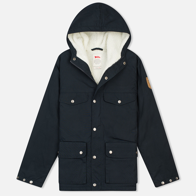 Женская куртка парка Fjallraven Greenland Winter Jacket Dark Navy