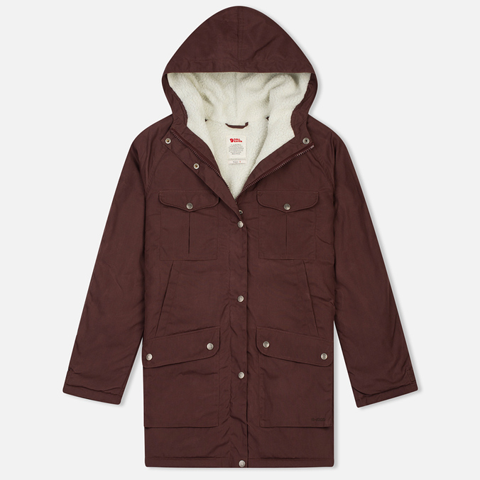 Женская куртка парка Fjallraven Greenland Winter Parka Long Burnt Red