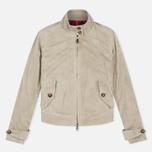 Женская куртка харрингтон Baracuta G4 Modern Classic Suede Leather Sand фото- 0