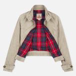 Женская куртка харрингтон Baracuta G4 Modern Classic Suede Leather Sand фото- 1
