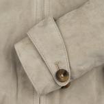 Женская куртка харрингтон Baracuta G4 Modern Classic Suede Leather Sand фото- 6