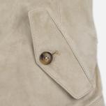 Женская куртка харрингтон Baracuta G4 Modern Classic Suede Leather Sand фото- 4