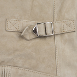 Женская куртка харрингтон Baracuta G4 Modern Classic Suede Leather Sand фото- 5