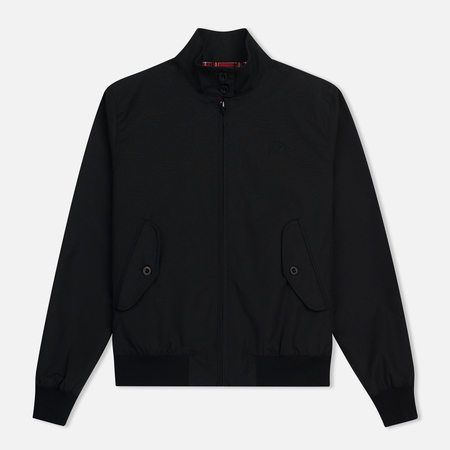 Женская куртка харрингтон Fred Perry Reissues Classic Black