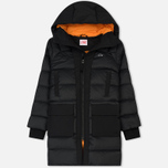 Женская куртка Lacoste Live Hooded Quilted Coat Black/Black фото- 0