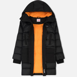 Женская куртка Lacoste Live Hooded Quilted Coat Black/Black фото- 2
