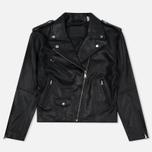 Женская куртка Levi's Relaxed Leather Moto Black фото- 0