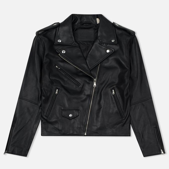 Женская куртка Levi's Relaxed Leather Moto Black