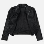 Женская куртка Levi's Relaxed Leather Moto Black фото- 1