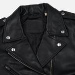 Женская куртка Levi's Relaxed Leather Moto Black фото- 2