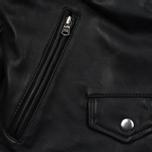 Женская куртка Levi's Relaxed Leather Moto Black фото- 3