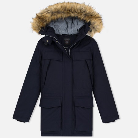 Женская куртка Napapijri Skidoo Open Long Blue Marine