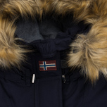 Женская куртка Napapijri Skidoo Open Long Blue Marine фото- 3